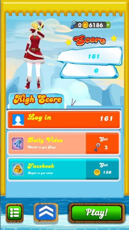 Golden Subway & Snow Princess Run screenshot-3