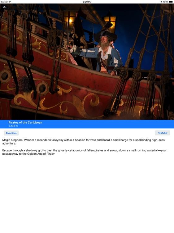 MotorCo Guide for Disney World for iPad screenshot-3