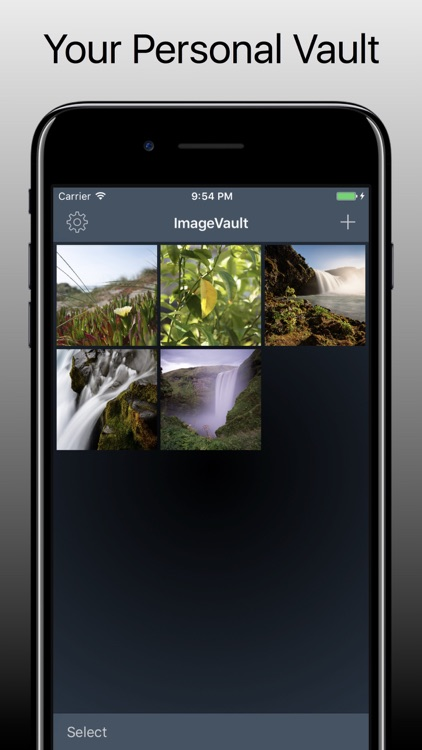 ImageVault - Secure Photos with Fingerprint