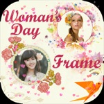 Women Day Photo Frame -Wonder Photo,Camera sticker