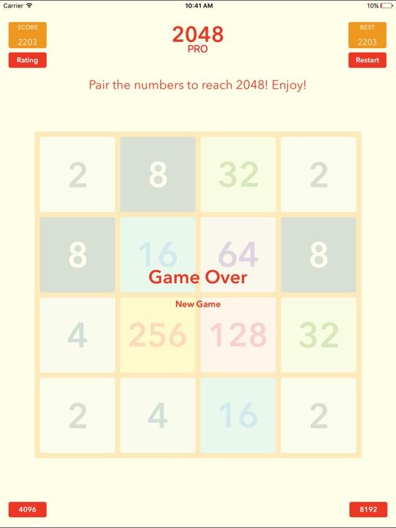 Screenshot #2 for 2048 Tile Pairing Challenge - Professional Version