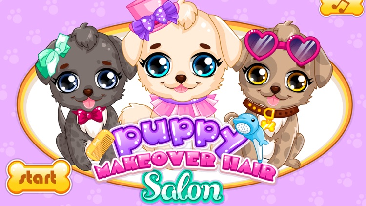 Makeover Games:Puppy Makeover Hair Salon screenshot-0
