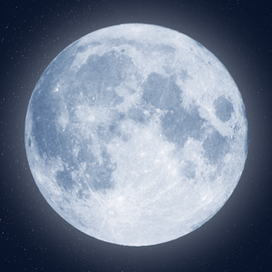 The Moon - Calendar phase of Moon free Weather app