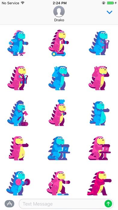 Drako StickersScreenshot of 4