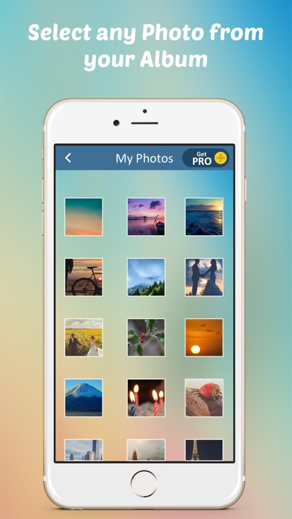 Photo Upload Roll – Edit Photos and Save for Send