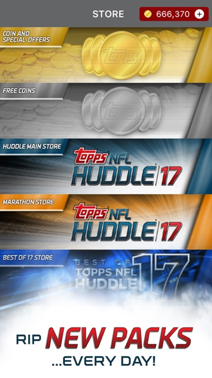 NFL HUDDLE: Football Card Trader screenshot-4