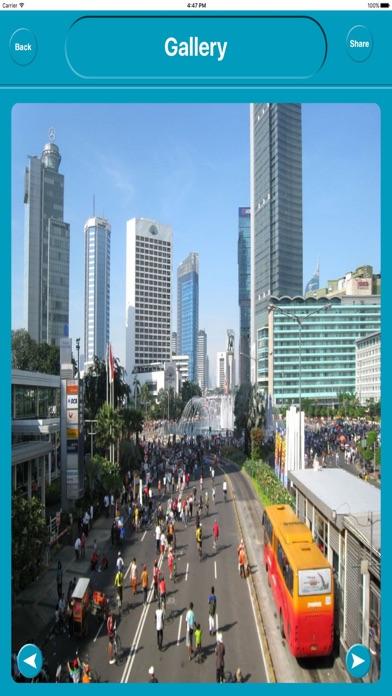 Jakarta Indonesia Offline City Maps Navigation iPhone