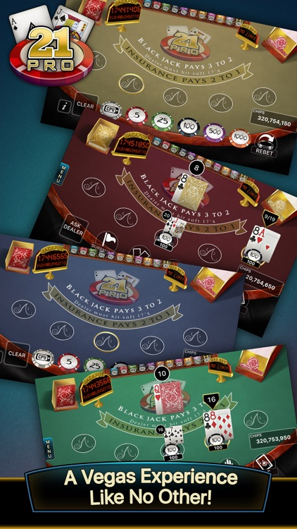 21 Pro: Blackjack Multi-Hand screenshot-0