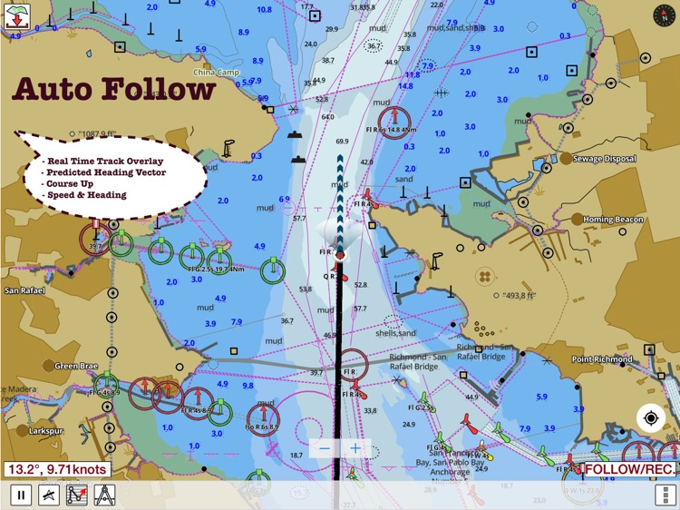 i-Boating:HD Gps Marine Charts screenshot-2