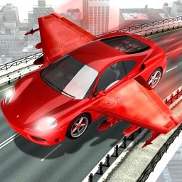 Futuristic Robot Flying Car War Simulator Games