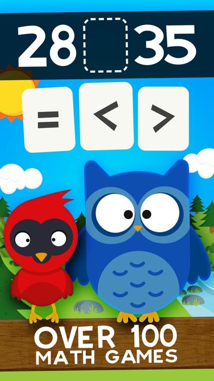 Animal Second Grade Math Games screenshot-0