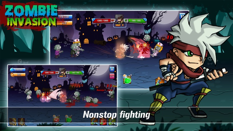 Zombie Invasion 1.0 screenshot-2