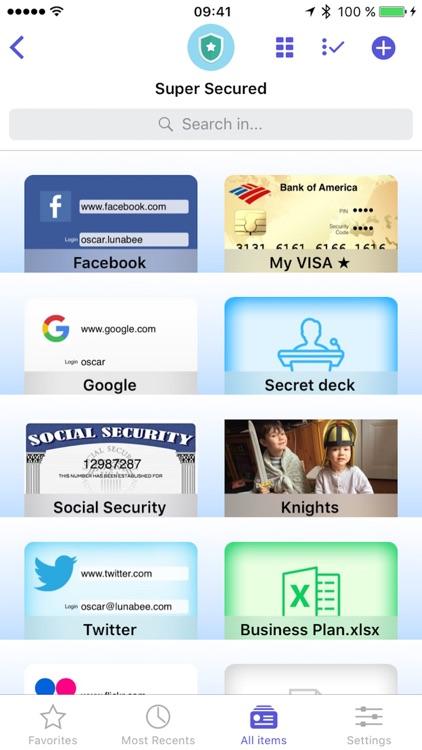 oneSafe 4 password manager screenshot-0
