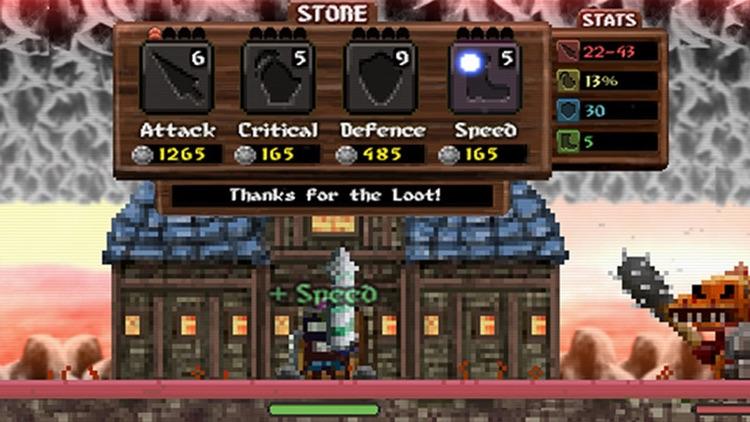 Loot Hero - RPG Grind Runner screenshot-4