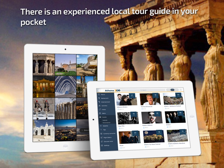 Athens Travel Guide & offline city map