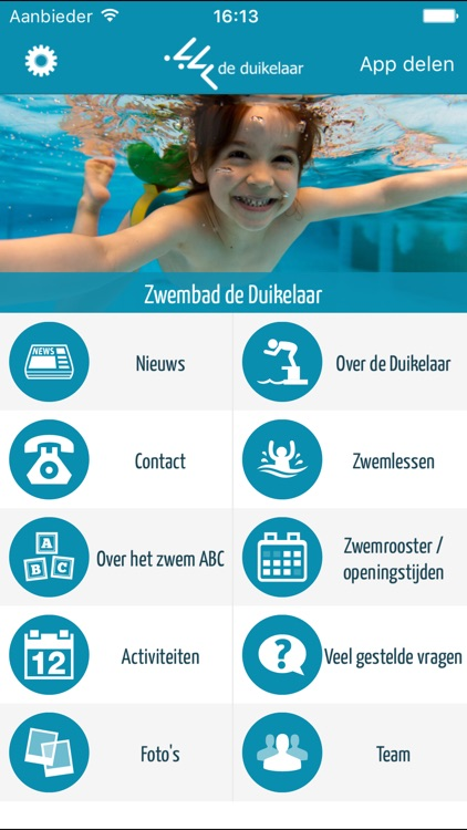 Zwembad De Duikelaar.Zwembad De Duikelaar By Concapps B V