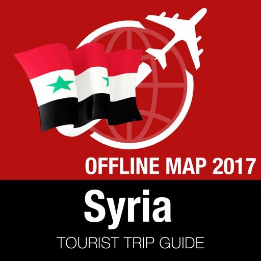 Syria Tourist Guide Offline Map By Offline Map Trip Guide Ltd