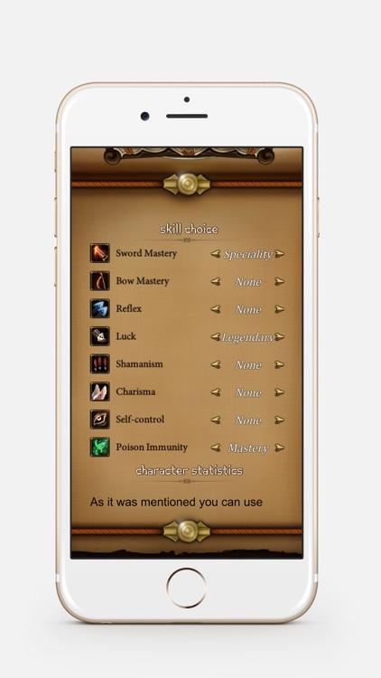 Hwarang & Kumiho Gamebook RPG screenshot-4