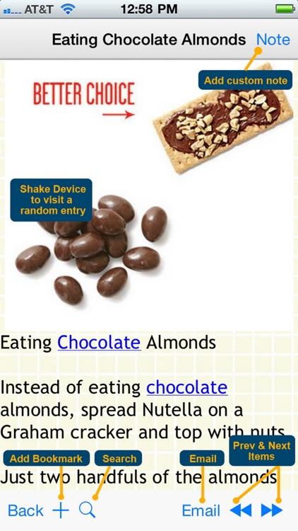 170 Food Swap Ideas screenshot-4