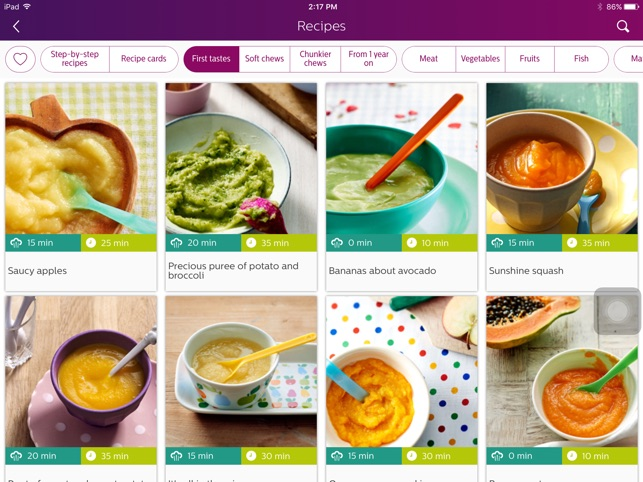 philips easy weaning on the app store