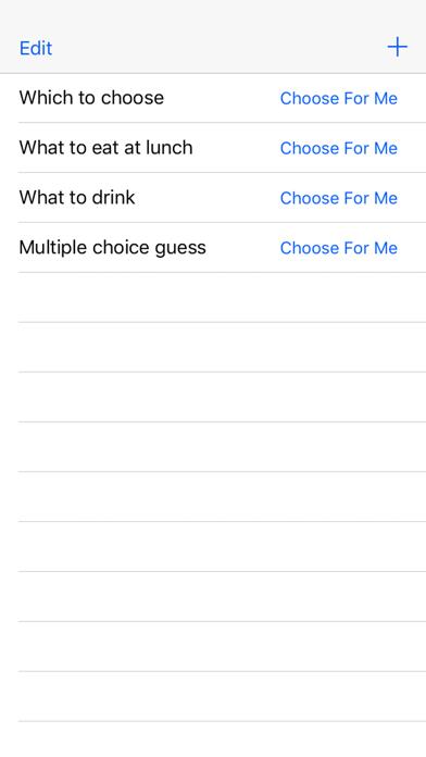Choose For Me - Random Choice Maker screenshot 2