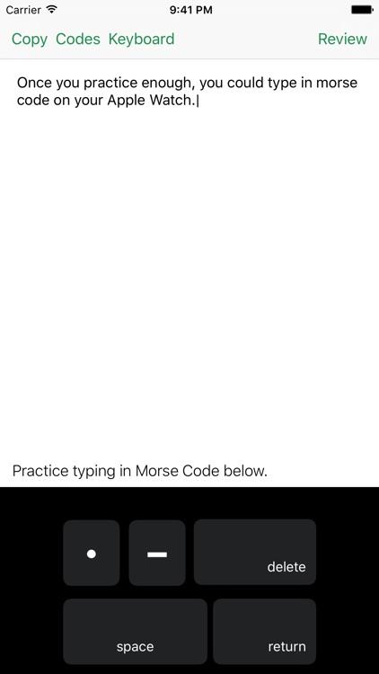 Morse Code Keys - Type in Morse Code