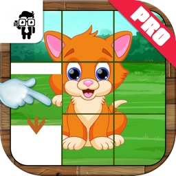 Pet Animal Slide Puzzle For Kids Pro