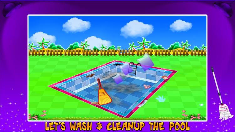Swimming Pool Repair & Cleanup- Cleaning Game