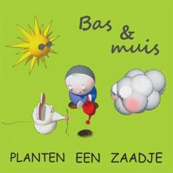 Bas en muis Planten een zaadje