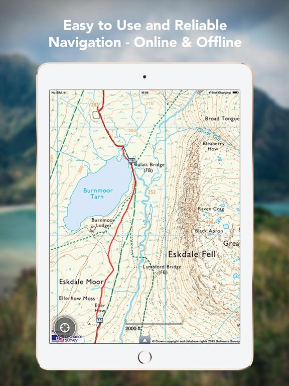 Outdoors GPS – Offline OS Maps Скриншоты7