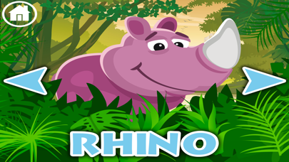Jungle animals name and sound · Kids Learning screenshot four