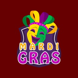 Mardi Gras Animated Stickers for iMessage