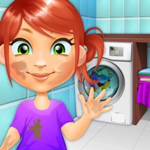 Clean The Kids - Girls & Boys Baby Salon Games