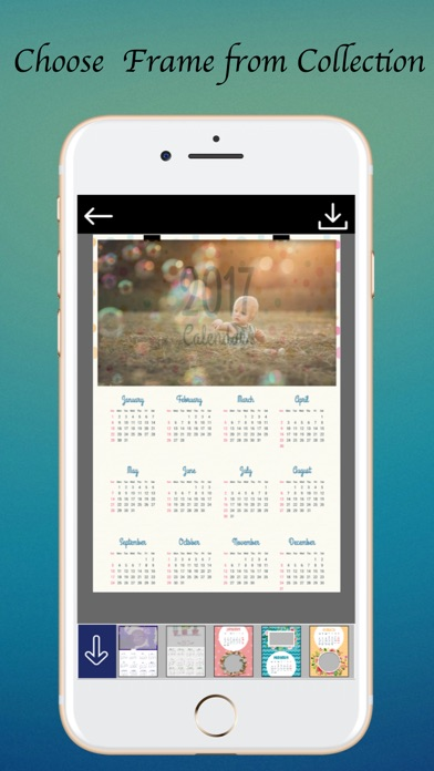 Calendar Photo Frame - Amazing Picture Frames - App - Mobile Apps
