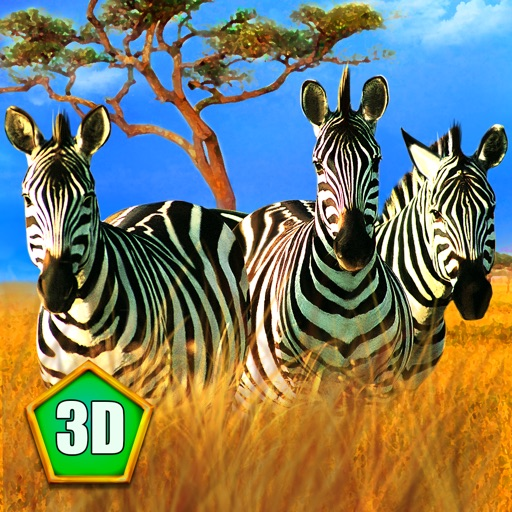 Zebra Family Simulator Full icon