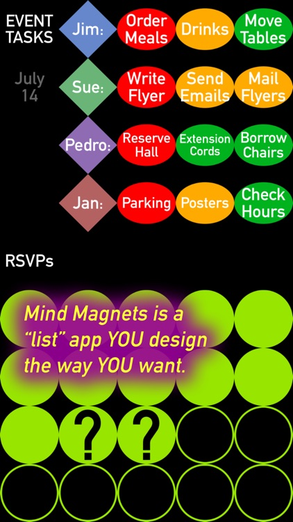 Mind Magnets Info Organizer—Visual Grid Checklists screenshot-3