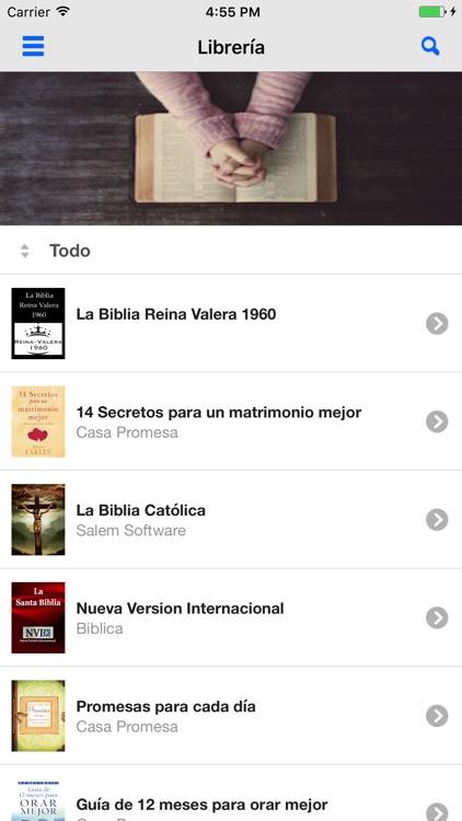 La Biblia Reina Valera con Audiolibro screenshot-4