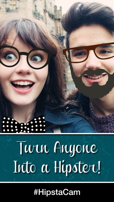 HipstaCam: Turn Your Friends Into Hipsters screenshot one