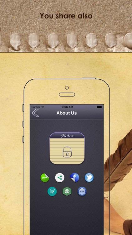 Notes Locker - Keep Your Data Password Protected screenshot-4