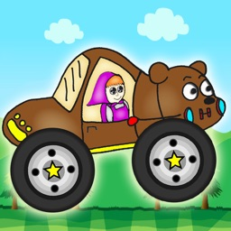 Girls and The Bears Cars Adventures Games For Kids