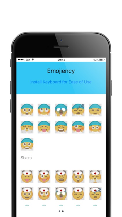 Emojiency Nurse Emojis On Kik,Whatsapp and Groupme screenshot-3