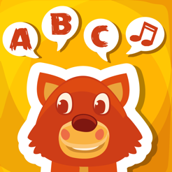 ABC Learn First Words in English for Children with Animals