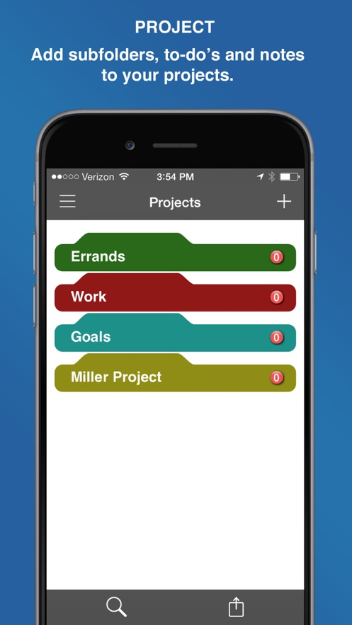 InFocus Pro - All-in-One Organizer App 截图