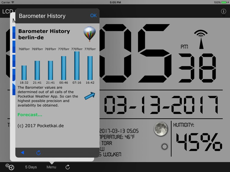 LCD Wallclock+Weather screenshot-4