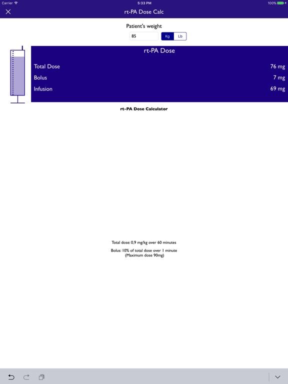 NIH Score & stroke tools Screenshots