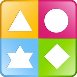 Colors and Shapes IQ Puzzle