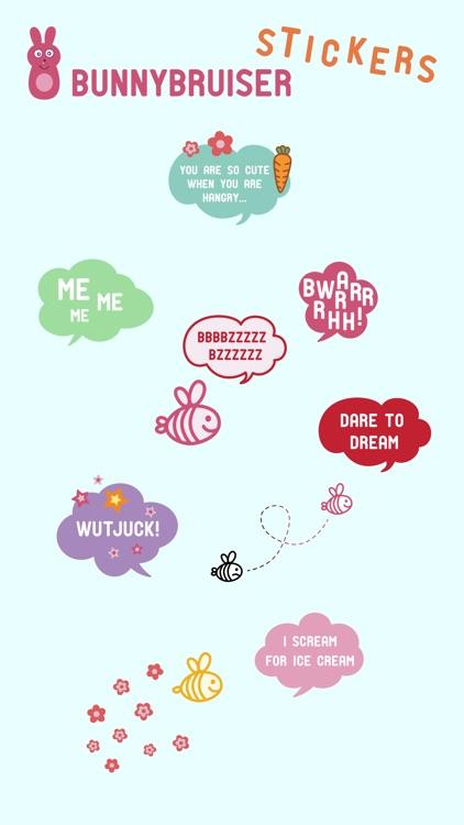 BunnyBruiser Stickers