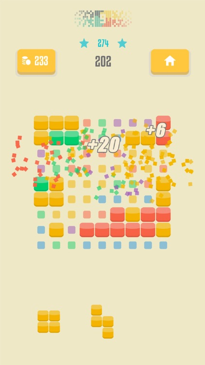 9squared! - Stack and match colored blocks puzzle screenshot-0