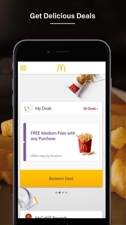 McDonald's app image