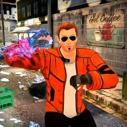 Hero Fighter City Crime Battle